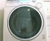洗濯機ぐるぐる。