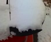 雪ですか…。