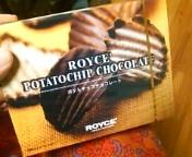 ポテトチップチョコレート。